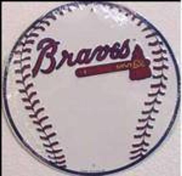 Atlanta Braves Circular Sign