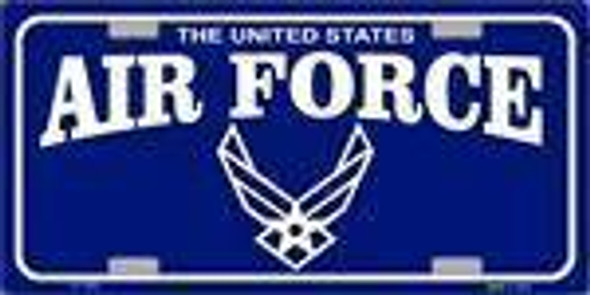 U.S. United States Air Force License Plate
