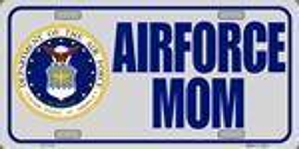 US Air Force Mom License Plate