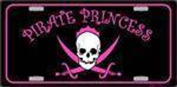 Pirate Princess License Plate-1