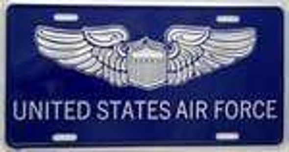 US Air Force License Plate-1