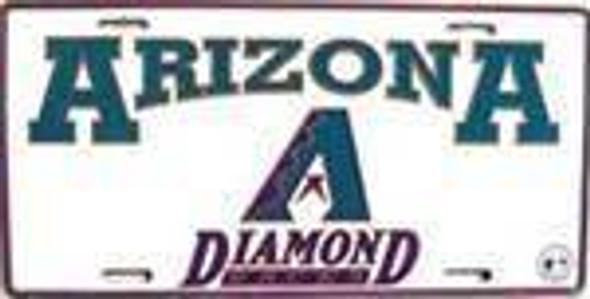 AZ Arizona Diamond Backs MLB License Plate