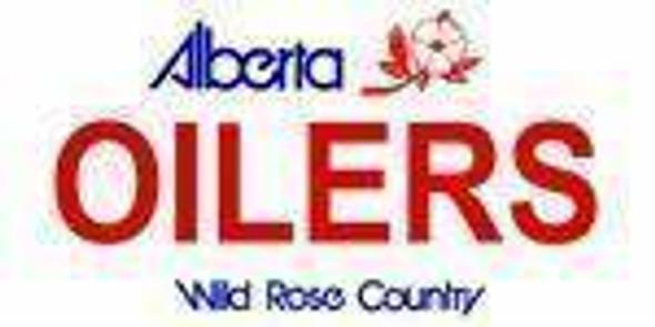 Alberta Canada Province Background License Plate - Oiler Made in USA
