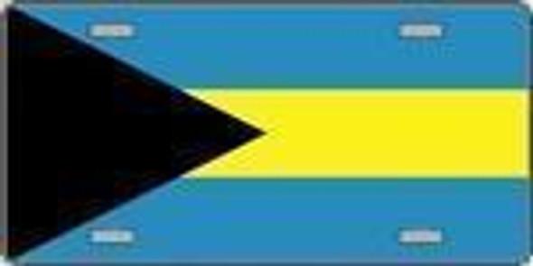 Bahamas Flag License Plate