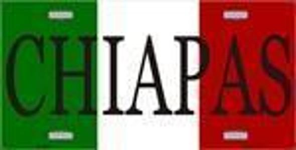 Chiapas, Mexico License Plate