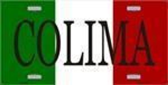 Colima, Mexico License Plate