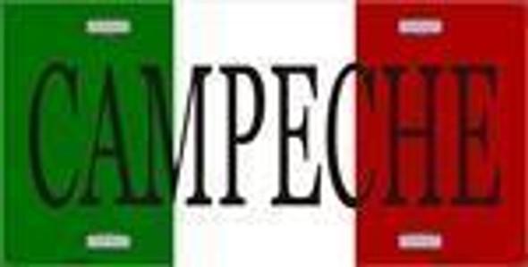 Campeche, Mexico License Plate