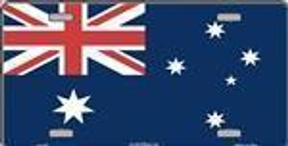 Australia Flag License Plate