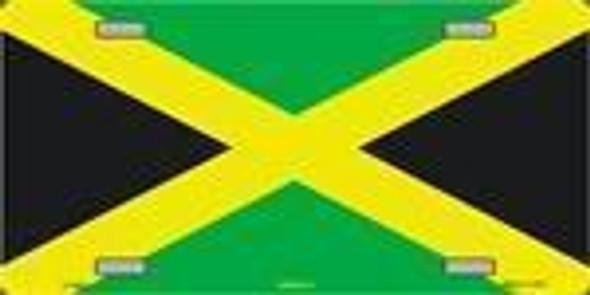 Jamaica Flag License Plate