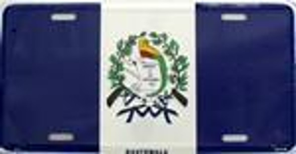 Guatamala Flag License Plate