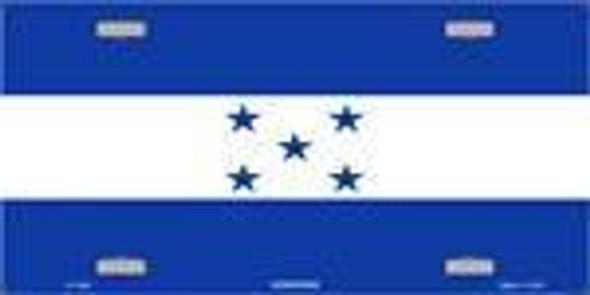 Honduras Flag License Plate