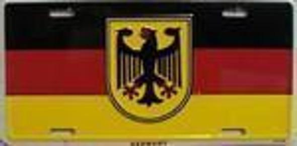 Germany Eagle Flag License Plate