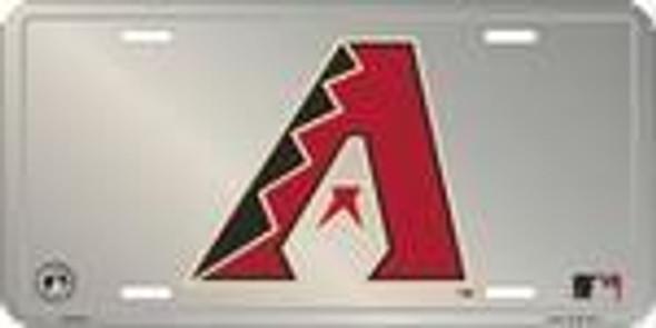 AZ Arizona Diamondbacks MLB Chrome License Plate