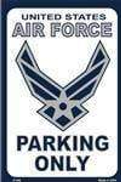 US Air Force Parking Only Sign