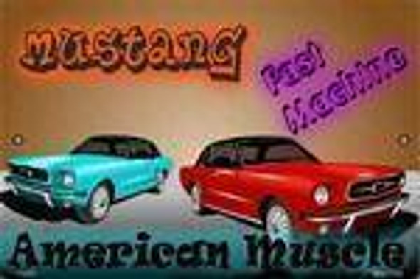 American Muscle - Ford Mustang Parking Sign
