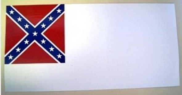 Confederate Second National License Plate