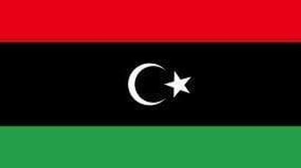 Libya (New) Flag 3x5 ft. Economical (This is also the Kingdom of Libya Flag of 1951 - 1969)