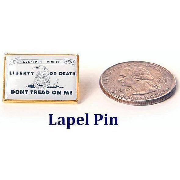 Culpeper Don't Tread on Me Pin