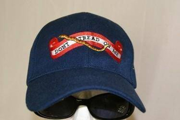First Navy Jack  Don't Tread on Me Cap