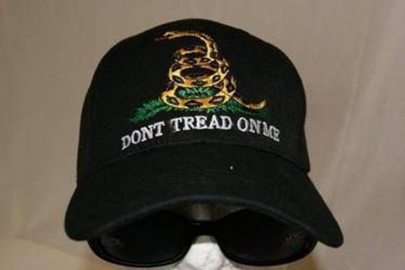 Gadsden Don't Tread on Me Cap Black