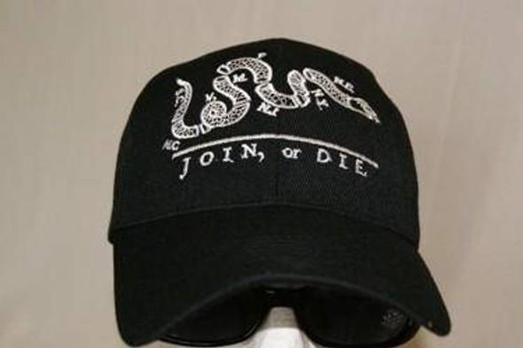 Join or Die Cap Black