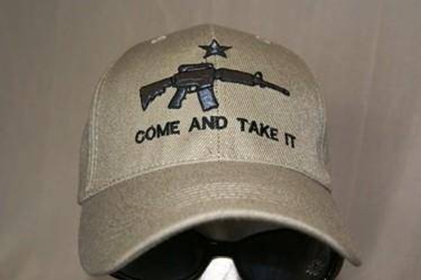 Come and Take In Cap Khaki