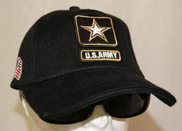 U.S. Army Star Black Cap