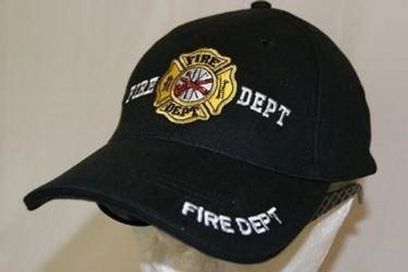 Fire Dept. Logo Cap