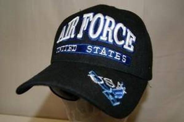 Black Air Force Cap
