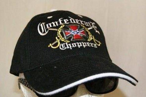 Confederate Chopper Cap