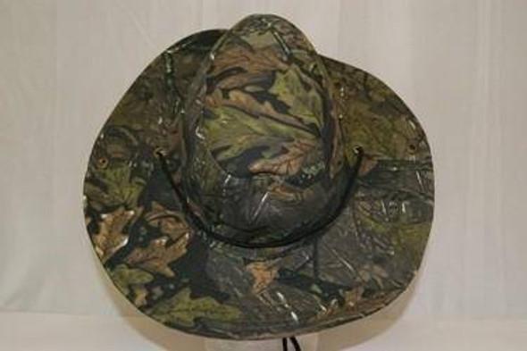 Green Leaf Camo Cap