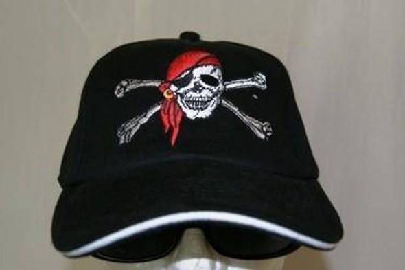 Red Hat Pirate Cap