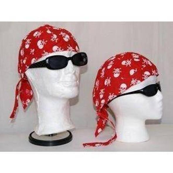 Pirate Red Do Rag