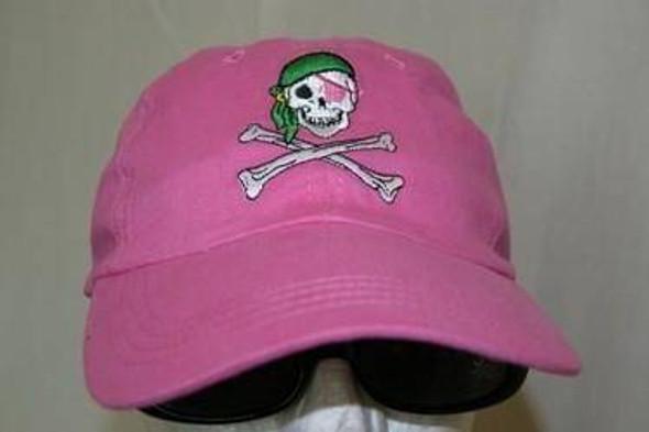 Pink Pirate Cap