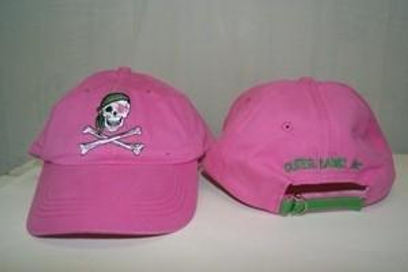 Outer Banks Pink Pirate Cap