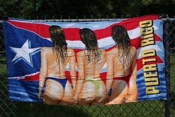 3 Girls Puerto Rico Beach Towel