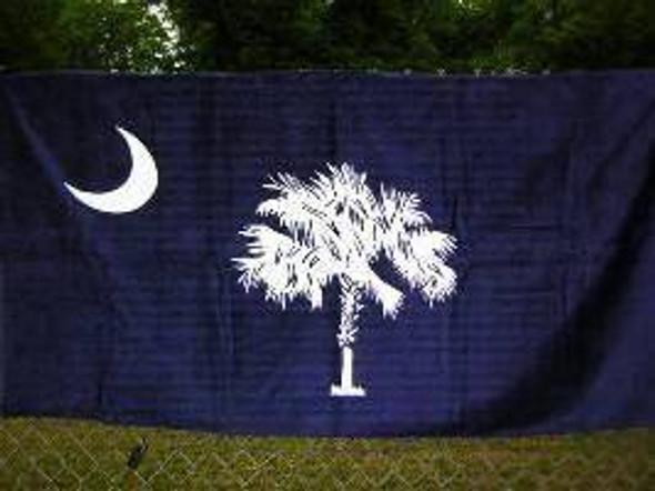 Blue South Carolina Beach Towel