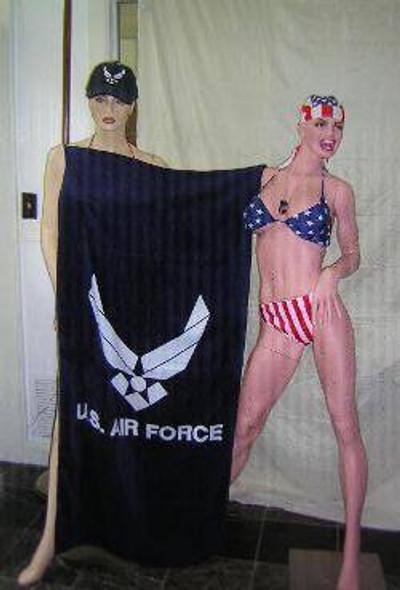 Air Force Beach Towel