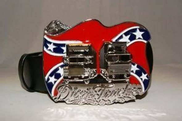 Dixie Trucker Belt Buckle