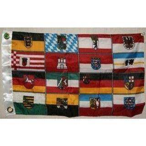 Germany States Flag 12x18 inch with grommets