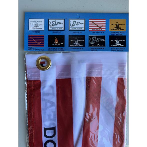1st Navy Jack Flag - Don't Tread On Me - Economical