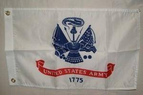 US Army Flag - Nylon Printed -  12x18 inch with grommets
