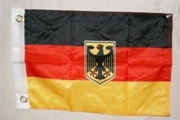 Germany Eagle Flag 12 x 18 inch with grommets