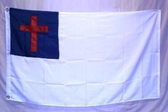 Christian Flag 4 X 6 inch