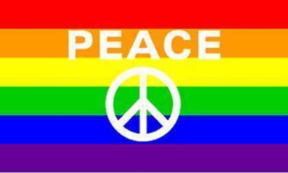 Peace Rainbow Flag 3 X 5 ft. Standard