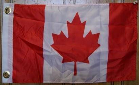 Canada Flag 12 x 18 inch with grommets