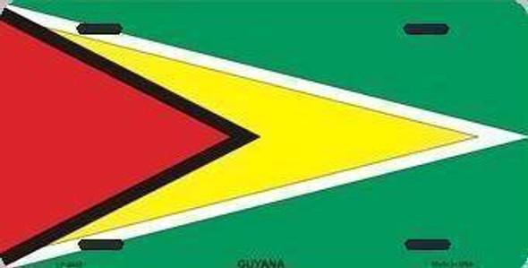 Guyana License Plate