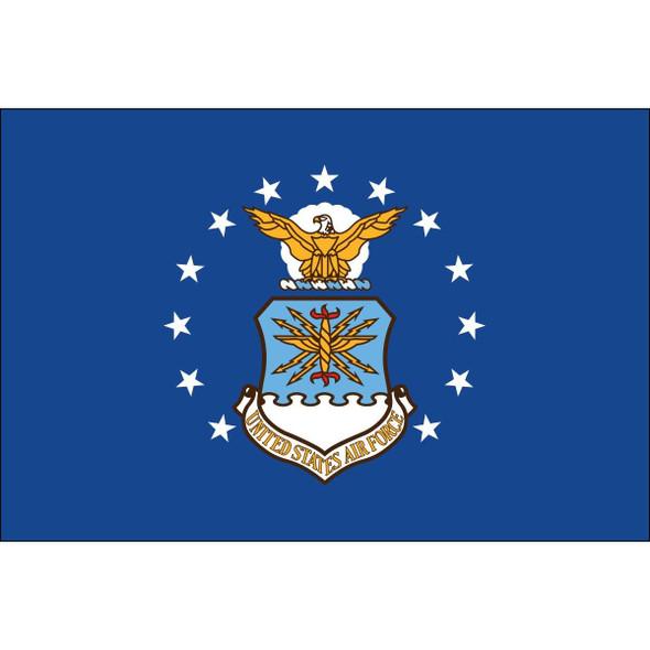 Air Force Double Sided Car Flag