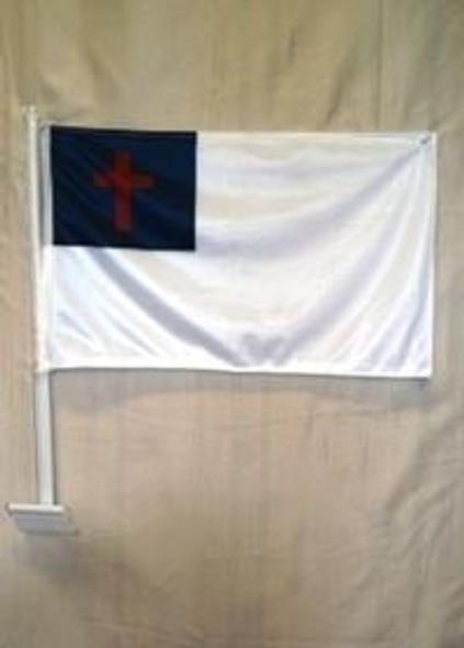 Christian Double Sided Car Flag