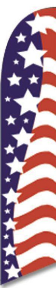 American Glory Advertising Banner (Complete set)